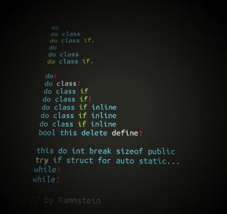 Рамштайн в програмуванні